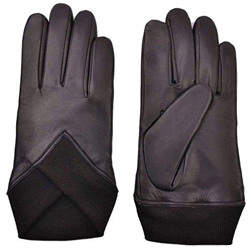 yiseven herren braun schaffell lederhandschuhe touchscreen. Black Bedroom Furniture Sets. Home Design Ideas